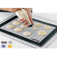 Best PTFE Non Toxic Baking Sheet BBQ Heat Proof Silicone Mat wholesale