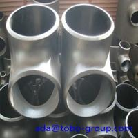 Best Stainless Steel Pipe Tee A403 Wp304L Straight Tee Asme B16.9 Size 1/2 - 60 inch wholesale