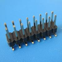 Buy cheap 2.54mm pin header,SMD and double row; from wholesalers