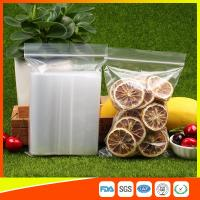 Cheap Plastic Tight Seal  Packing Ziplock Bags Reclosable Poly Storage Bags for sale