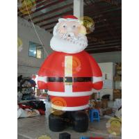 Cheap Giant Inflatable Balloon Santa Claus For Christmas Decoration for sale