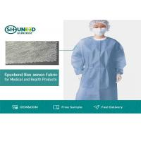 Best Non Toxic Medical Breathable Non Woven Fabric Disposable Surgical Gown Fabrics wholesale