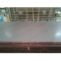 China Black / Brown Phenolic Film Faced Plywood , E1 Glue Shuttering Plywood on sale