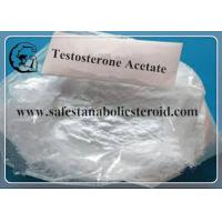 Best CAS 1045-69-8 Testosterone Acetate 99% Purity  For Bodybuilding Muscle Growth White powder  MF: C21H30O3 wholesale