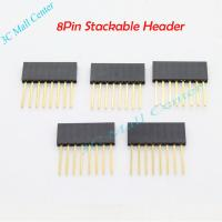 Best Female 8 pin Stackable Header For Arduino Accessories wholesale