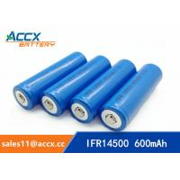 Best shaver battery lithium ifr14500 3.2v 600mAh AA size wholesale