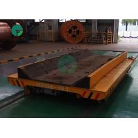 Best 10 Ton Steel Billet Coil Transfer Trolley Ladle Transporter Workshop Movable Rail Cart wholesale