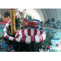 Buy cheap Fiberglass Water Park Slide , Indoor Middle Behemoth Slide For Adult from wholesalers