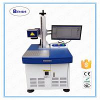 Quality Fast speed laser engravem marking machine for all metal wholesale