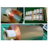 Best 35um FCCL Copper Sheet Roll , 1oz Thickness 300mm Width Copper Foil Sheet wholesale