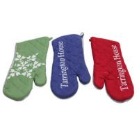 Best Custom Colors Pot Holder Gloves , Heat Proof Oven Gloves Flexible Operation  wholesale