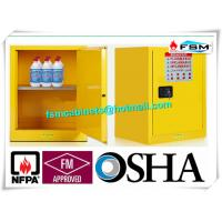 Quality Single Door Fireproof Paint Storage Cabinets With Grounding Wire Connector wholesale