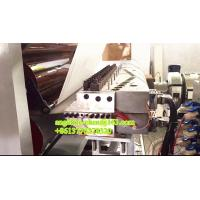 Best decorative pvc imitation marble inside wall tile wall sheet extrusion production line wholesale