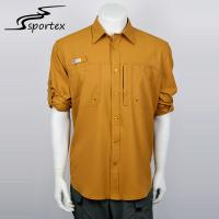 China Wicking Dryfit Quick Dry Shirts 100% Polyester Materials High Stretchability on sale