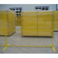 Best Multi Color Temporary Metal Security Fencing Panels Protect Private Assets wholesale