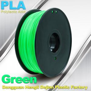 Best Customorized Green 3mm PLA 3d Printer Filament  100% biodegradable wholesale