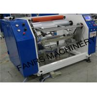 Best Semi-automatic Aluminum Foil Roll Rewinding Machine For Small Foil Roll Kitchen Use Food Packaging wholesale