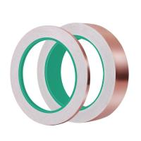 Best Copper foil rolled tape With Conductive Adhesive for electrical use wholesale