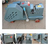 Steel Round Rebar Cutting And Bending Machine Efficient Manual Compact Structure