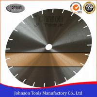 Best Low Noise Saw Blade Blanks Power Tools Accessories For Cutting Granite / Marble 30CrMo Or 50Mn2V Material wholesale