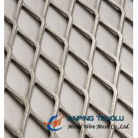 Best Raised Expanded Metal Diamond Hole With 1.22*2.44m, 1m*2m Panel Size wholesale