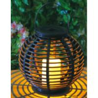 Best Plastic Material Solar Garden Lights , Solar Outdoor Lighting With Natural Looking wholesale