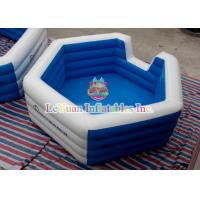 Best Kids Inflatable Water Toys , Swimming Pool Inflatables Square Pool For Backyard Fun wholesale