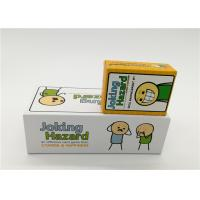 Best Family Board Games Joking Hazard Card Game For Adult OEM / ODM Available wholesale