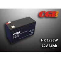 Best 12V 7ah HR1236W Charge Ups Battery , Agm Longest Lasting Deep Cycle Battery wholesale