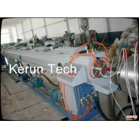 Best High Speed Large Diameter Pipe Extrusion Machine / HDPE Pipe Production Line wholesale