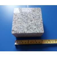 China light grey granite cobble stone cube stone 10x10x5cm polishing polished surface finished outdoor floor pave paving tiles for sale
