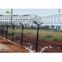 Best High Security Glavanized and PVC Powder Coated Welded Wire Mesh Fence50*200mm wholesale