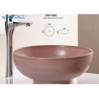 Best Self Cleaning Glaze Counter Wash Basin Ceramic Wash Basin 405 * 405 * 150mm wholesale
