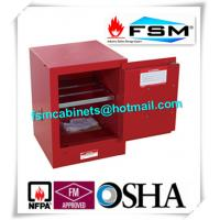 Best Red Flammable Safety Cabinets 4 Gallon For Chemical Paint And Inks Storage wholesale