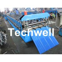 Best Metal Automatical Roof Panel Cold Roll Forming Machine with 0 - 15 m/min Speed wholesale