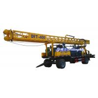 Best 400m DFT-400 Rotary Borehole Drilling Rig with Tricone Bit DTH Bit, Water Well Drilling Rig for Sale wholesale