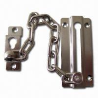 Best Door Chain, Made of Zinc Alloy with Nickel Plating wholesale