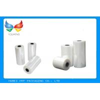 Best Liquid Bottles Packing Pvc Shrink Wrap Film with Excellent Sealing Under High Speed wholesale