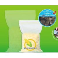 Buy cheap Biodegradable Ziplock Bags Corn Starch Zip Storage zip lock plastic bags from wholesalers