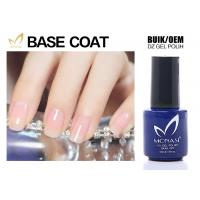 Best SGS Approved Uv Gel Base Coat , Clear Base Coat For Training School Chemical Free wholesale