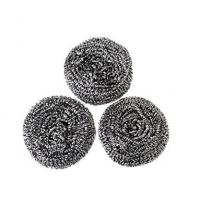 Cheap Non Toxic Material Stainless Steel Scrubbers , Long Lifetime Scouring Pad Safe For Stainless Steel for sale