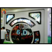 Best Indoor 6D Local Movie Theaters with Motion Chair , 6D Cinema System wholesale