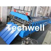 Best Metal Roofing Sheet Cold Roll Forming Machine with Hydraulic Post Cutting wholesale