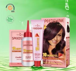 China Speedshine Hair Color Cream on sale