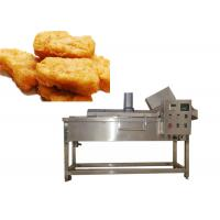 China manufacture High Speed Semi-Auto / Automatic Fryer Machine Large Capaity 100-500kg/H