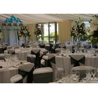 Best UV Resistant Marquee Party Tent Light Frame Steel Structure For Banquet Catering wholesale