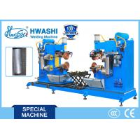 Best HWASHI  Double Circumferential Resistance Seam Welding Machine for Oil Tank wholesale