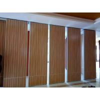 China Ballroom Wooden Sliding Movable Acoustical Partition Walls Panels on sale