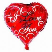 Best 18-inch Heart Aluminium Foil Balloon, for Parties ,Wedding, Advertising, Promotions or Gifts Use wholesale