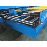 Quality GI / PPGI Roof Panel Roll Forming Machine Wall Board Structure For Roofing Sheet wholesale